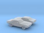 1/160 2X 1971 Dodge Challenger