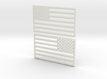 American Flag 3D Print STL V2