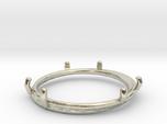 Double ring moebius bi metal   8 3/4