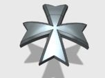 60x Maltese Cross : Shoulder Insignia pack