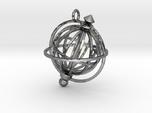 Spinning Globe Pendant