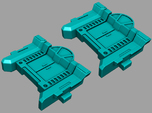 VF-1 Option Part; Battroid Ingress/Egress Hatch x2