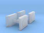 1/160th N Scale Air Conditioner scoop for semi tru