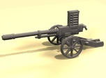 28mm Steampunk Automatic Cannon