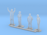 HO Scale Standing People 3