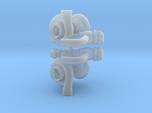Turbo 64mm W Parts 1/18