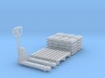 Pallet jack 01. 1:64 Scale