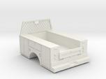 Standard Full Box Truck Bed W Cab Guard 1-50 Scale