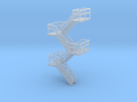 N Scale Staircase H46.4mm
