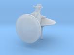 dish turret 1:144 scale