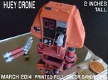 2 Inches DRONE 2 HUEY Full Color
