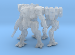 Neugen Combat Team of 3 walkers (2 inch version)