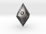 Hedron D10: Closed (Hollow), balanced gaming die