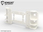 AC10008 SCX10 II XJ CHEROKEE Rear Light Housing