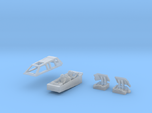 Snow speeder, Closed Canopy and Flaps, 1:144