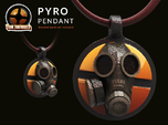 Team Fortress 2 - Pyro Collectible Pendant | Keych