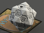 Spindown Companion Cube D20 - Portal Dice