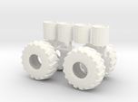 1/50th scale Log Skidder or Construction tires