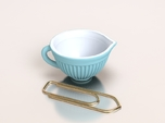 Mixing Bowl for Your Dollhouse, 1:12 scale