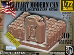 1/72 Modern Military FUEL Can Set001