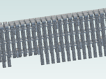 EMD stanchions 35 series  HO plastic
