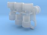 Blower 1/25 pulleys x3