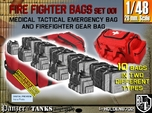 1/48 Med Tac Emerg-Firefight Gear Bag Set001