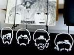 The Beatles: Wire Wall Art (Large)