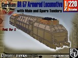 Z 1-220 BR 57 Armored Loco + 2 Tenders For BP-42