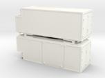 RhB container swap-body Wechselbehälter x2