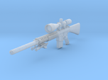 1/10th K11 bipod suppressor hunter scope