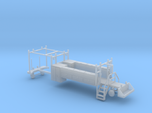 MOW Rail Truck 2 Door Cab Tool Bed 1-87 HO Scale