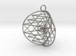 3D Sri Yantra 3 Sided Symmetrical