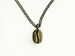 Coffee Bean pendant for coffee lovers.
