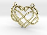 2 hearts & Infinite symbol intertwined
