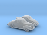 1/160 2X 1940 Ford Eight Coupe