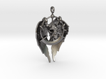 AMULET Skull and Wings