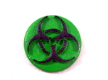 Pandemic Infection Marker -- Biohazard Symbol