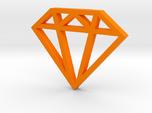 Diamond Pendant 1 Inch