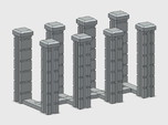 Block Wall Intersection Columns