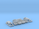 2x Snow speeders, Closed Canopy and Flaps, 1:144