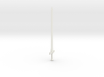 1:144 scale model one-handed long sword