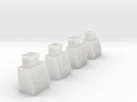 N-Scale Single Door Cooler - 4 Pack