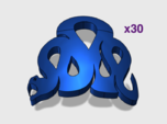 30x Iron Snakes : Shoulder Insignia pack