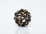 Twisted Single Stranded Globe Knot