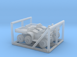 N Scale 6-Wheel ATV 2pc