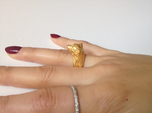 Wolf Ring size 7,5