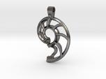 Nautilus Shell Keychain
