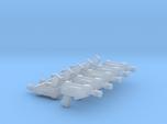 10 Miniature Pistols