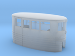 Small Passenger Trolley - Open Windows - Z Scale